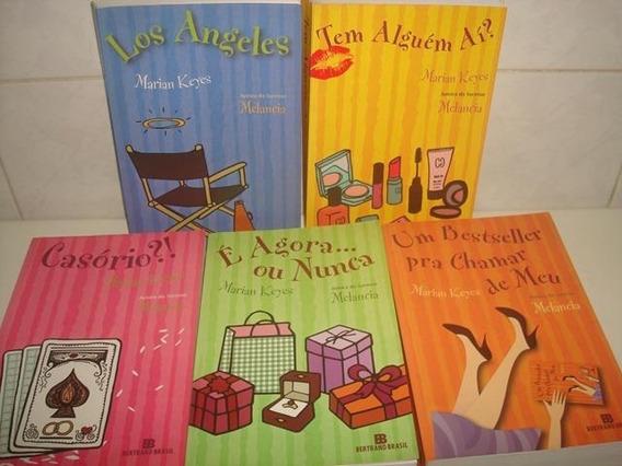 Kit C/ 5 Livros Grandes De Marian Keyes - Promoção R$ 89,00