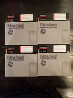 Lote X 20 - Diskette Nashua Md2d - Usados