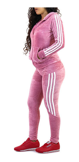 Conjunto Deportivo Dama Pants Sudadera Leggings Ropa 01