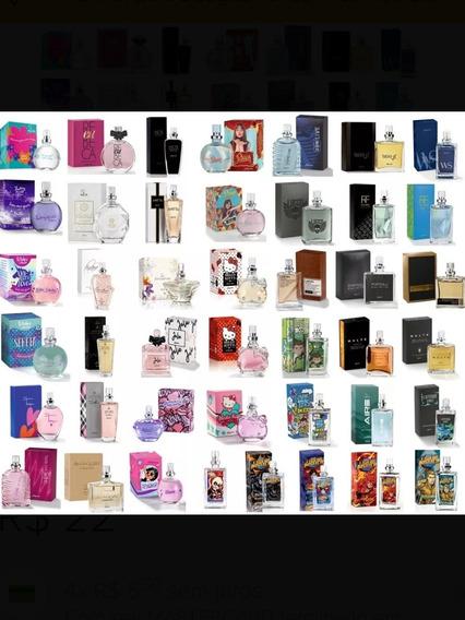 Kit 10 Colônias Miniaturas Jequiti 25 Ml/cada - A Escolher- Perfume Masculino E Feminino