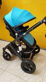 Baby Car Stroller Moises Importado 2 Em 1 Super Luxo