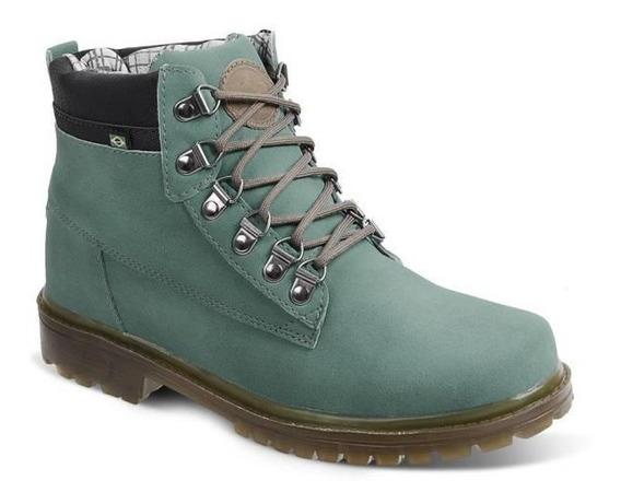 Bota Adventure Masculina Eco Canyon Worker Boot Verde