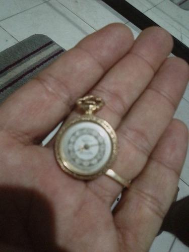 Relógio Mondaine 17 Rubis Plaquet 18k