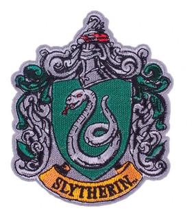 Parche Insignia Harry Potter Hogwarts Slytherin