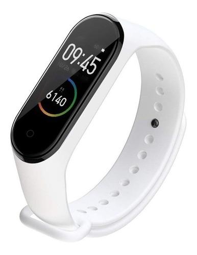 Imagen 1 de 1 de Smartwatch Nictom Smartwatch NT03 malla  blanca de  silicona