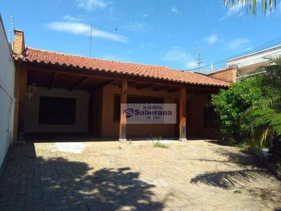 Casa Comercial À Venda, Taquaral, Campinas. - Ca3156