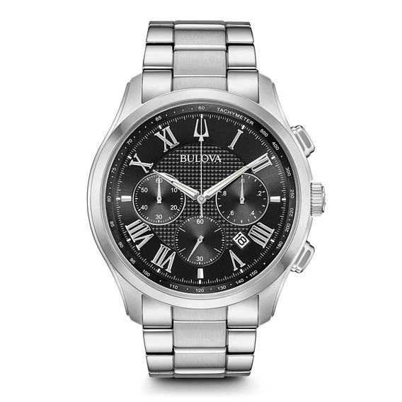Reloj Bulova Wilton Style Nuevo Original Crono 96b288