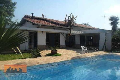 Chácara Com 3 Dormitórios À Venda, 1800 M² Por R$ 980.000,00 - Loteamento Chácaras Vale Das Garças - Campinas/sp - Ch0003