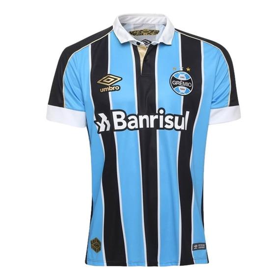 Camisa Oficial Grêmio Masculina Umbro I 2019 837286