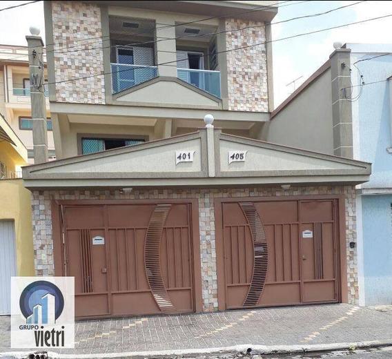 Sobrado Com 2 Dormitórios À Venda, 120 M² Por R$ 610.000 - Chácara Inglesa - São Paulo/sp - So2396