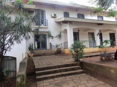 Casa Com 5 Dormitórios À Venda, 1100 M² Por R$ 8.000.000 - Parque Nova Campinas - Campinas/sp - Ca10398