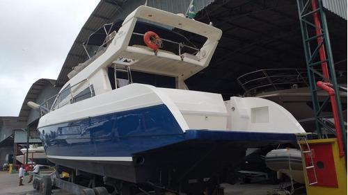 Intermarine 440 Full. 2 Volvo 370 Diesel. Lancha Iate Barco