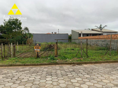 Terreno À Venda, 300 M² Por R$ 110.000 - Itajuba - Barra Velha/sc - Te0171