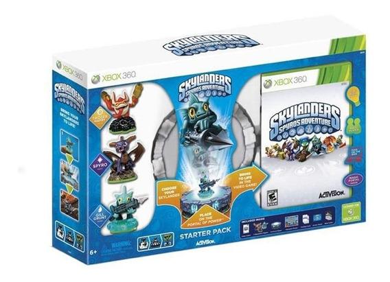 Skylanders Spyros Adventure Starter Pack Xbox 360 Física