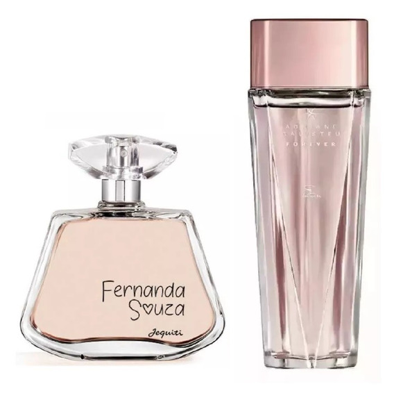 Perfumes Jequiti : Fernanda Souza + Adriane Galisteu Forever