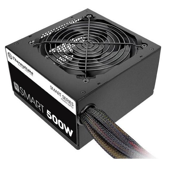 Fonte 500w Real Thermaltake Smart 80 Plus Pfc Ativo
