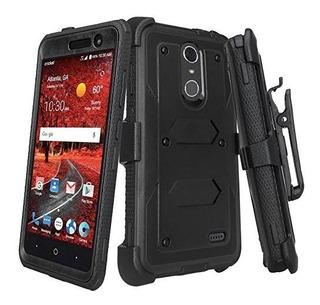 Galaxy Wireless Compatible Para Zte Zmax One Z719dl Funda Zt
