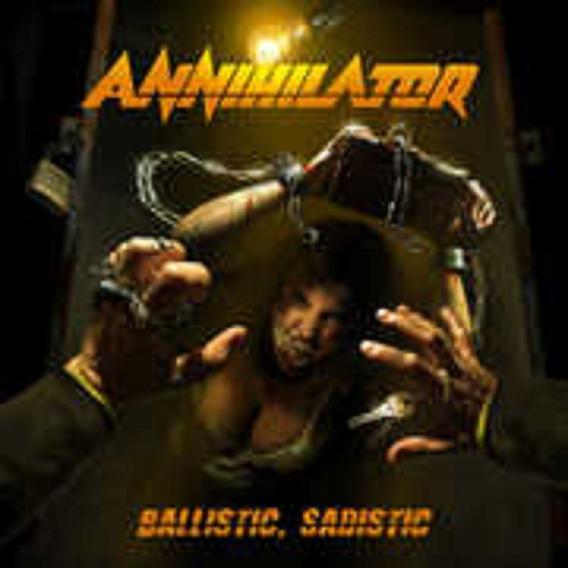 Annihilator Ballistic, Sadistic Ica Cd Nuevo