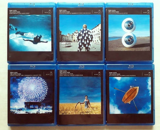 Pink Floyd Later Years 1987-2019 Blu Ray (6 Discos)