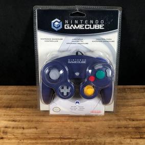 Controle Indigo Lacrado Original Americano P/ Gamecube!!