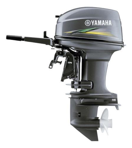 Imagem 1 de 9 de Motor De Popa Yamaha 40 Amhs  Novo