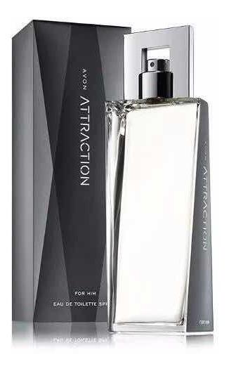 Avon Attraction For Him Deo Perfume Masculino 75 Ml Original