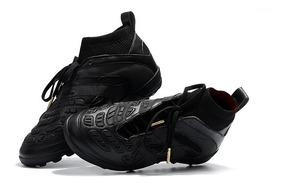 Chuteira adidas Society David Beckham Accelerator Black-alt: