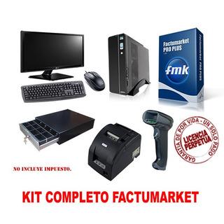 Kit Completo Sistema D Facturación Punto D Venta Para Super