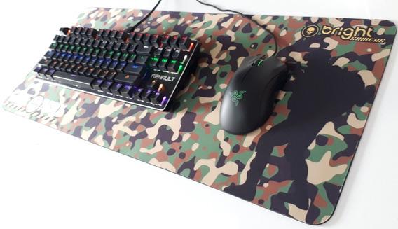 Mouse Pad Mousepad Gamer Extra Grande Camuflado Promoção