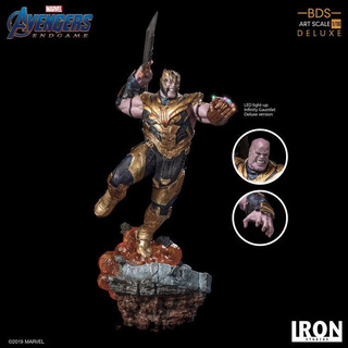 Iron Studios Thanos Endgame Deluxe Limited Edition