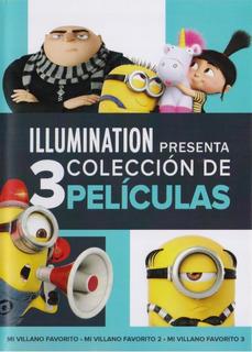 Mi Villano Favorito 1 2 3 Trilogia Peliculas Dvd