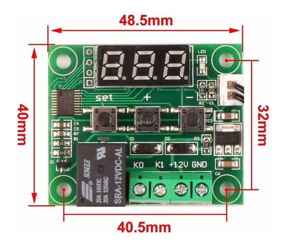 Controle Temperatura W1209 Arduino Chocadeira Frete $12