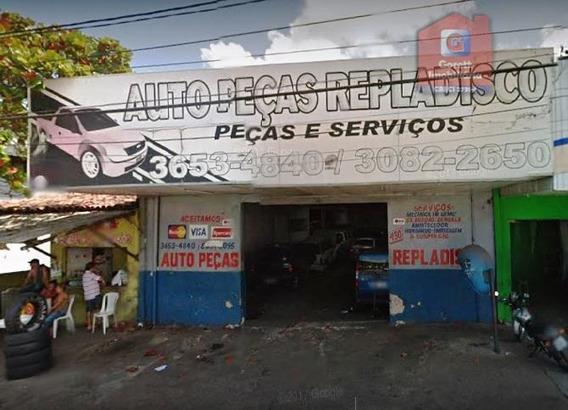 Galpão À Venda, 457 M² Por R$ 470.000 - Quintas - Natal/rn V1285 - Ga0001