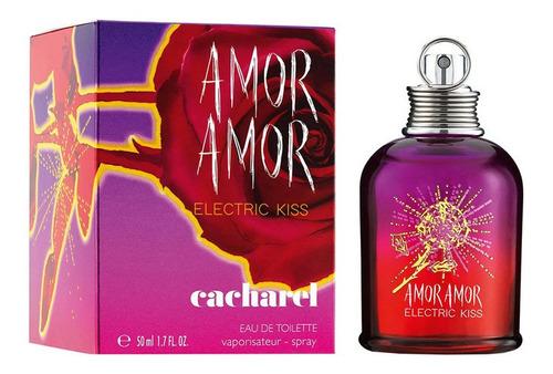 Amor Amor Electric Kiss Cacharel Edt 50 Ml