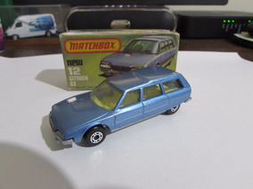 Matchbox Superfast - Citroen Cx #12 Com Caixa Original