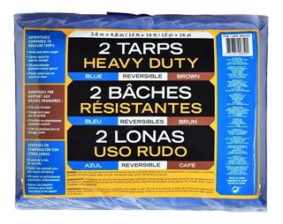 2 Lonas De Uso Rudo 3.6 M X 4.8 M Resistentes