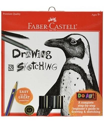 Faber-castell - Kit De Dibujo Y Dibujo De Arte - Artesaní