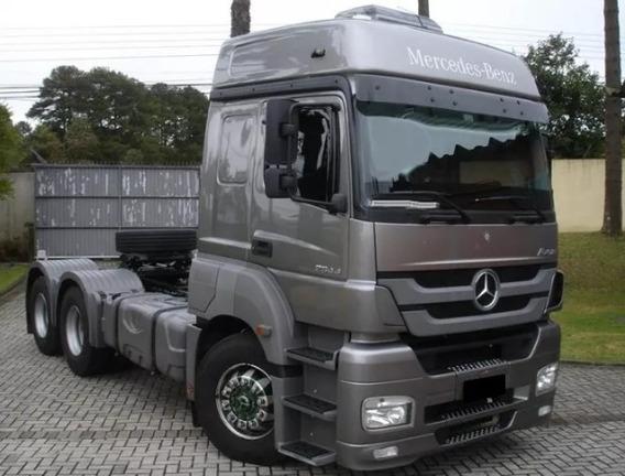 Mercedes-benz Mb Axor 2544 6x2 2014/14 Teto Alto