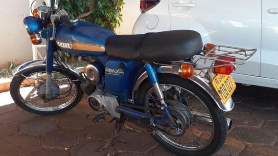Yamaha 50cc 1974 Mande In Japão