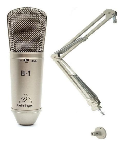Microfone Behringer B-1 Cardióide+pedestal Articulado Biquad