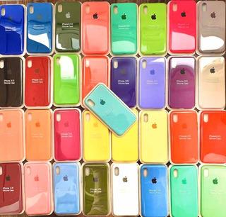 Paquete De 10 Piezas Fundas Silicon Original iPhone
