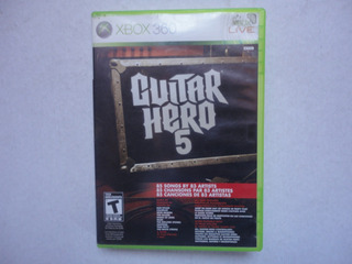 Guitar Hero 5 Xbox 360 Original!!