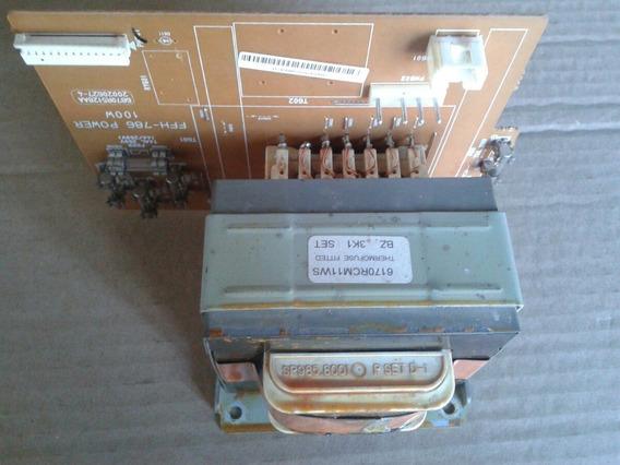 Placa Fonte Som LG Ffh-786 C/trafo