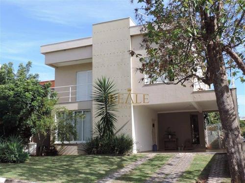 Casa Com 3 Dormitórios À Venda, 282 M² Por R$ 1.290.000,00 - Terras De São Francisco - Vinhedo/sp - Ca0819