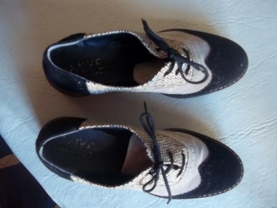 Zapatos Mive Collazo, Impecables Plantilla 23cm,#36