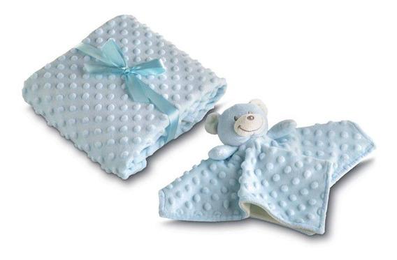Enxoval Bebê Kit Naninha + Manta Lepper Promoção 6 Modelos