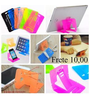6 Unidades Suporte Celular Tablet Apoio De Mesa Organizador