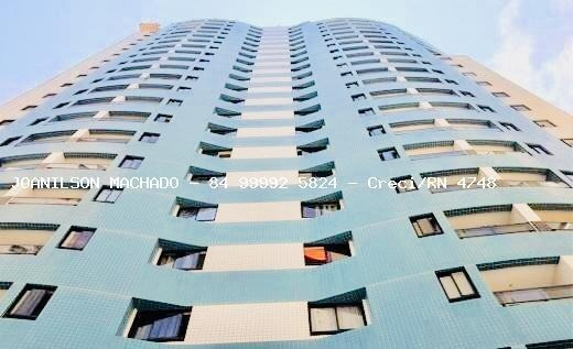 Apartamento Para Venda Em Natal, Ponta Negra - Conde Da Praia, 2 Dormitórios, 1 Suíte, 2 Banheiros, 1 Vaga - Ap1089-conde Da Praia