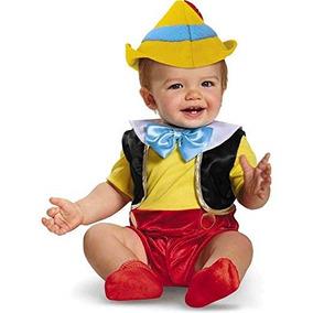 ba4bd47f7 Disfraz De Pinocho Bebe Talla 6-12 Meses Halloween Disney