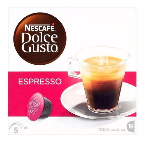 Capsulas Dolce Gusto Nescafe Espresso  16 Capsulas